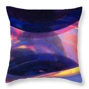 Abstract Light Color Series 2 No.19 Throw Pillow