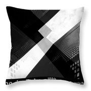 Abstract Mies Throw Pillow