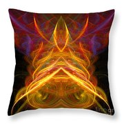 Abstract Ninety-five Throw Pillow