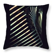Abstract No. One Throw Pillow