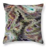 Abstract Pastel Art Throw Pillow