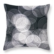 Abstract Photo Of Light Reflecting Throw Pillow