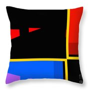 Abstract-pm-1 Throw Pillow