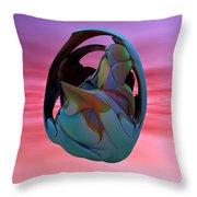 Abstract Sculpture 042412 Throw Pillow