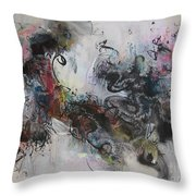 Abstract Seascape00098 Throw Pillow