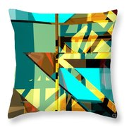 Abstract Sin 24 Throw Pillow