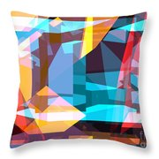 Abstract Sin 28 Throw Pillow