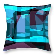 Abstract Sin 29 Throw Pillow