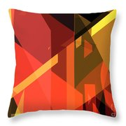 Abstract Sin 31 Throw Pillow