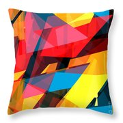 Abstract Sine L 14 Throw Pillow