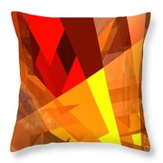 Abstract Sine L 17 Throw Pillow