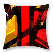 Abstract Sine L 5 Throw Pillow