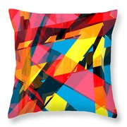 Abstract Sine P 13 Throw Pillow