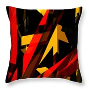 Abstract Sine P 2 Throw Pillow