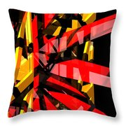 Abstract Sine P 3 Throw Pillow