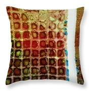 Abstract Three Throw Pillow