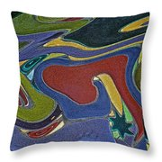 Abstract Xii Throw Pillow