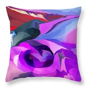 Abstract041712 Throw Pillow