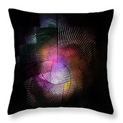 Abstract110111b Throw Pillow