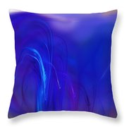 Abstracted Landscape  090611 Throw Pillow