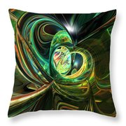 Abstracted Love Fx  Throw Pillow