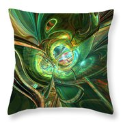 Abstracted One Love Fx  Throw Pillow