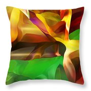 Abstraction 091412 Throw Pillow