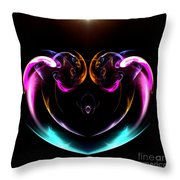 Absttract Seventy-seven Throw Pillow