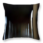 Abyss Looks Back Throw Pillow