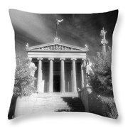 Academy Of Athens Throw Pillow