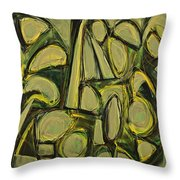 Accentuate The Positive Throw Pillow