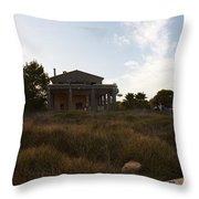 Acces To Es Trenc Throw Pillow