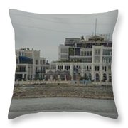 Across The Mississippi Throw Pillow