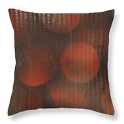 Actions In A Painting Throw Pillow