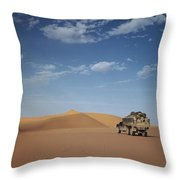 Ad Dahna Is The Red Sand Desert, Twenty Throw Pillow