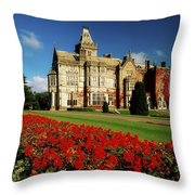 Adare Manor, County Limerick, Ireland Throw Pillow