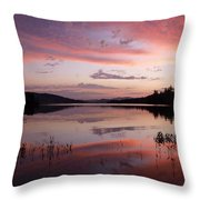 Adirondack Reflections 1 Throw Pillow