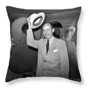 Adlai Stevenson (1900-1965) Throw Pillow by Granger