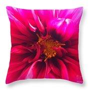 Adorable Flora  Throw Pillow