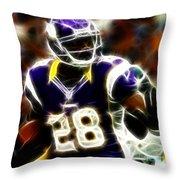 Adrian Peterson 02 - Football - Fantasy Throw Pillow