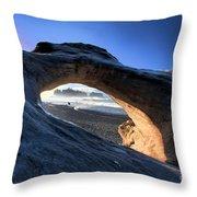 Adrift At Olympic Throw Pillow