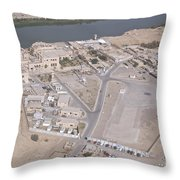 Aerial View Of Unknown Forward Throw Pillow