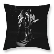 Aerosmith In Spokane 1 Throw Pillow