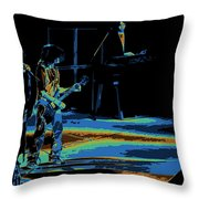 Aerosmith In Spokane 13c Throw Pillow