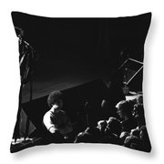 Aerosmith In Spokane 14 Throw Pillow