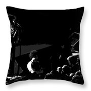 Aerosmith In Spokane 14b Throw Pillow