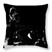 Aerosmith In Spokane 15b Throw Pillow