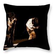 Aerosmith In Spokane 19a Throw Pillow