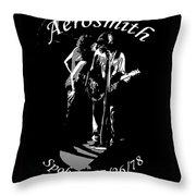 Aerosmith In Spokane 1b Throw Pillow