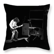 Aerosmith In Spokane 23 Throw Pillow